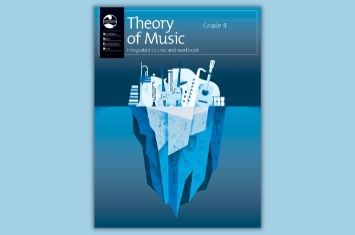 Grade 4 Theory of Music: Integrated course and workbook cover