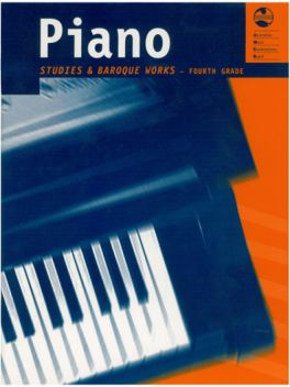 Piano Studies and Baroque Works Grade 4