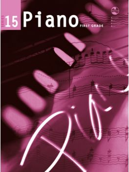 Piano Grade 1 Series 15 Grade Book