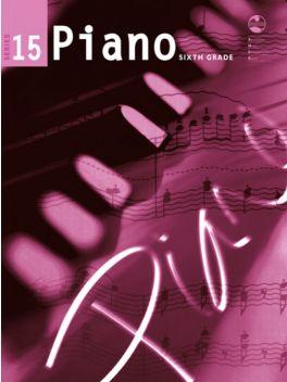 Piano Grade 6 Series 15 Grade Book