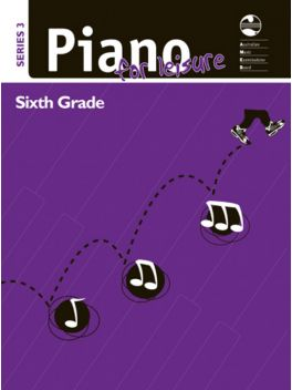 Piano for Leisure Grade 6 Series 3 Grade Book
