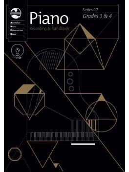 Piano Grade 3 & 4 Series 17 Recording & Handbook