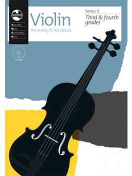 Violin Grade 3 & 4 Series 9 Recording & Handbook