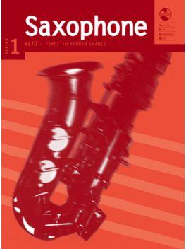 Saxophone Alto/Baritone (Eb) Grade 1 - 4 Series 1 Grade Book
