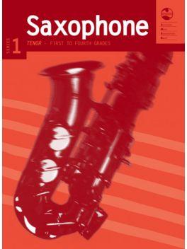 Saxophone Tenor/Soprano (Bb) Grade 1 - 4 Series 1 Grade Book