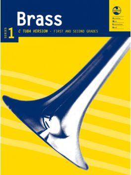 Brass C Tuba Version Grade 1 & 2 Series 1 Grade Book
