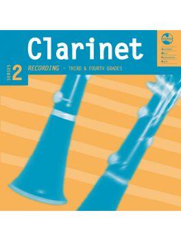 Clarinet Grade 3 & 4 CD & Notes Series 2 Recording (CD)