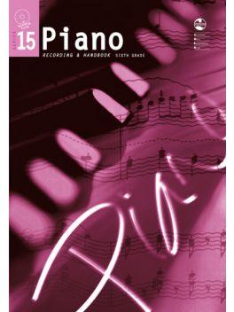 Piano 5 Grade 6 Series 15 Recording & Handbook