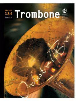Trombone Orchestral Brass Grade 3 & 4 Series 1 Grade Book