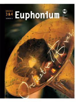Euphonium Grade 3 & 4 Series 1 Grade Book