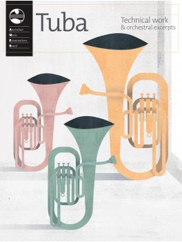 Tuba Technical work & orchestral excerpts 2020