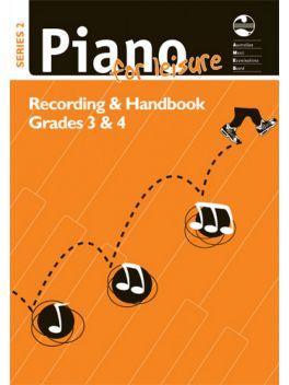 Piano for Leisure Grade 3 & 4 Series 2 Recording & Handbook