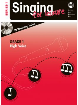 Singing for Leisure High Voice Grade 1 Series 1 Grade Book