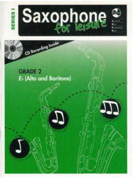 Saxophone for Leisure Alto/Baritone (Eb) Grade 2 Series 1 Grade Book