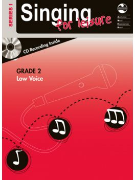 Singing for Leisure Low Voice Grade 2 Series 1 Grade Book