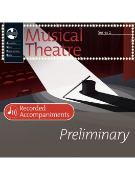 Musical Theatre Preliminary Series 1 Recorded Accompaniments (CD)