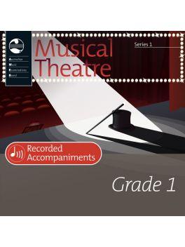 Musical Theatre Grade 1 Series 1 Recorded Accompaniments (CD)