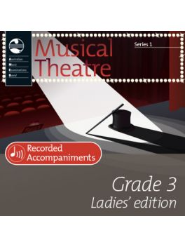 Musical Theatre Grade 3 (Ladies' Edition) Series 1 Recorded Accompaniments (CD)