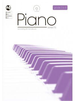 Piano Grade 3 & Grade 4 Series 16 Recording & Handbook