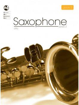 Saxophone Alto/Baritone (Eb) Grade 2 Series 2 Grade Book