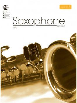 Saxophone Alto/Baritone (Eb) Grade 3 Series 2 Grade Book