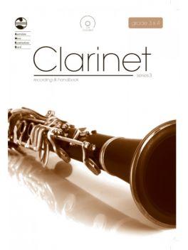 Clarinet Grade 3 & 4 Series 3 Recording & Handbook