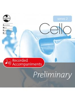 Cello Preliminary Series 2 Recorded Accompaniments (CD)