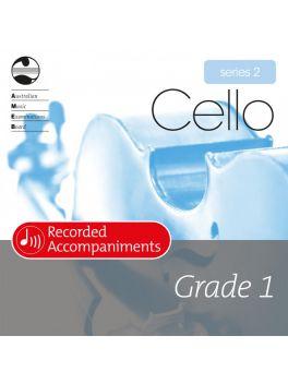 Cello Grade 1 Series 2 Recorded Accompaniments (CD)