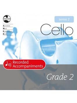 Cello Grade 2 Series 2 Recorded Accompaniments (CD)
