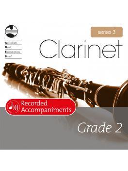 Clarinet Grade 2 Series 3 Recorded Accompaniments (CD)
