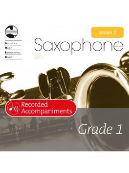 Saxophone Alto/Baritone (Eb) Grade 1 Series 2 Recorded Accompaniments (CD)
