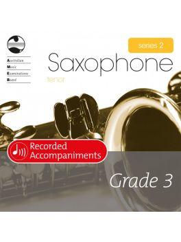 Saxophone Tenor/Soprano (Bb) Grade 3 Series 2 Recorded Accompaniments (CD)