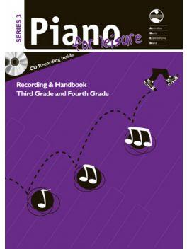 Piano for Leisure Grade 3 & 4 Series 3 Recording & Handbook