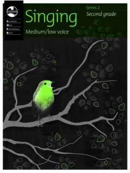 Singing Medium/Low Voice Grade 2 Series 2 Grade Book
