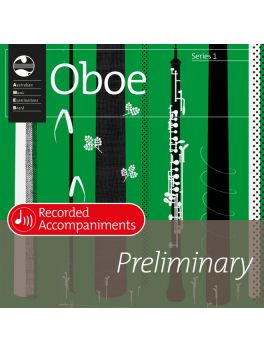 Oboe Preliminary Series 1 Recorded Accompaniments (CD)