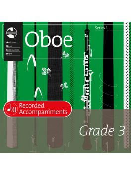 Oboe Grade 3 Series 1 Recorded Accompaniments (CD)