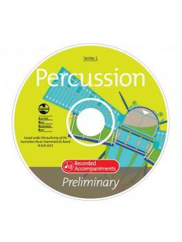Percussion Preliminary Series 1 Recorded Accompaniments (CD)