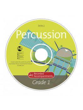 Percussion Grade 1 Series 1 Recorded Accompaniments (CD)