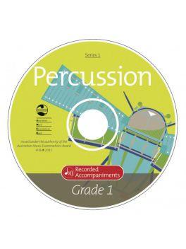 Percussion Grade 2 Series 1 Recorded Accompaniments (CD)