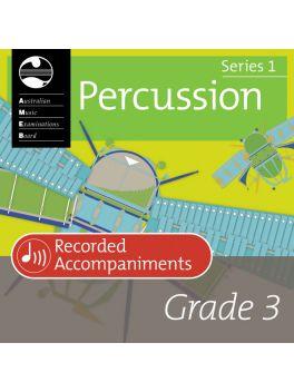Percussion Grade 3 Recorded Accompaniment (digital)