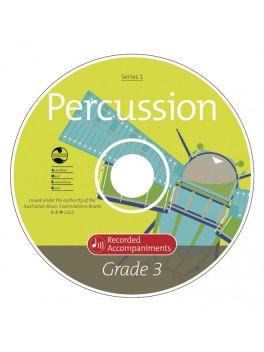 Percussion Grade 3 Series 1 Recorded Accompaniments (CD)