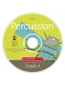 Percussion Grade 4 Series 1 Recorded Accompaniments (CD)