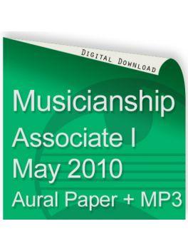 Musicianship May 2010 Associate Section I Aural