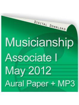 Musicianship May 2012 Associate Section I Aural