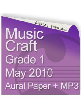 Music Craft May 2010 Grade 1 Aural