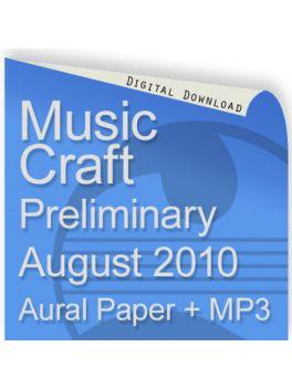 Music Craft August 2010 Preliminary Aural