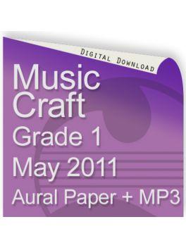 Music Craft May 2011 Grade 1 Aural