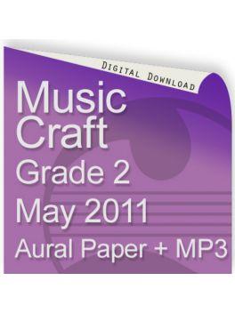 Music Craft May 2011 Grade 2 Aural