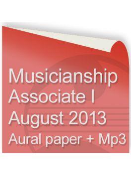 Musicianship August 2013 Associate Section I Aural