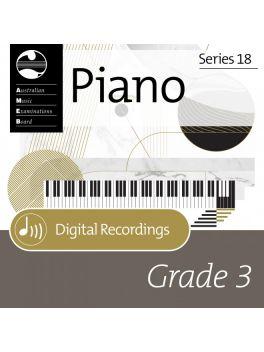 Piano Grade 3 Recording (digital)